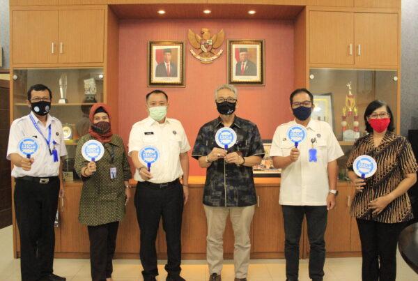 Audiensi Kepala BNNP DKI Jakarta kepada Kepala TVRI Stasiun DKI Jakarta