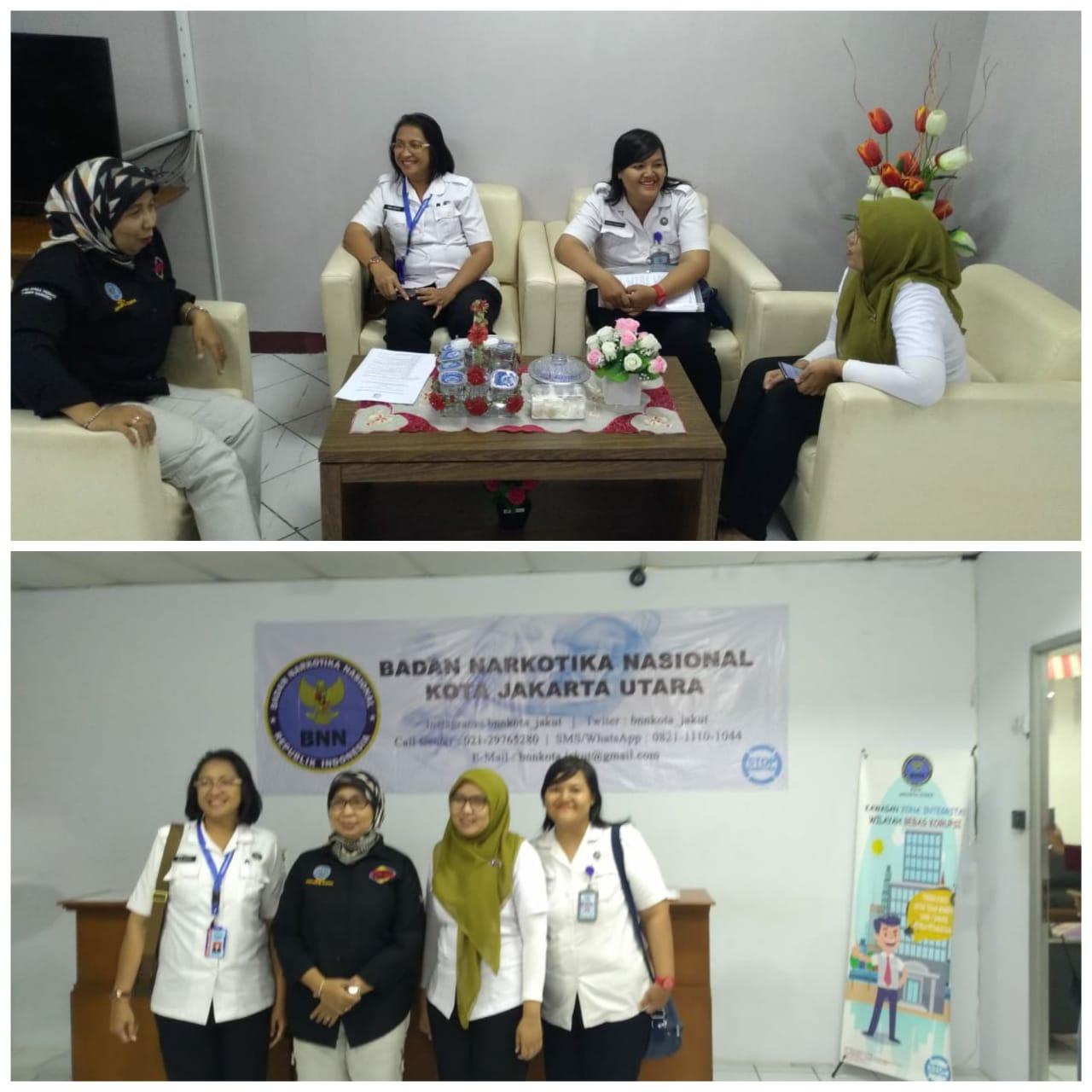 Koordinasi dalam Rangka Pelaksanaan Advokasi di BNNK Jakarta Utara