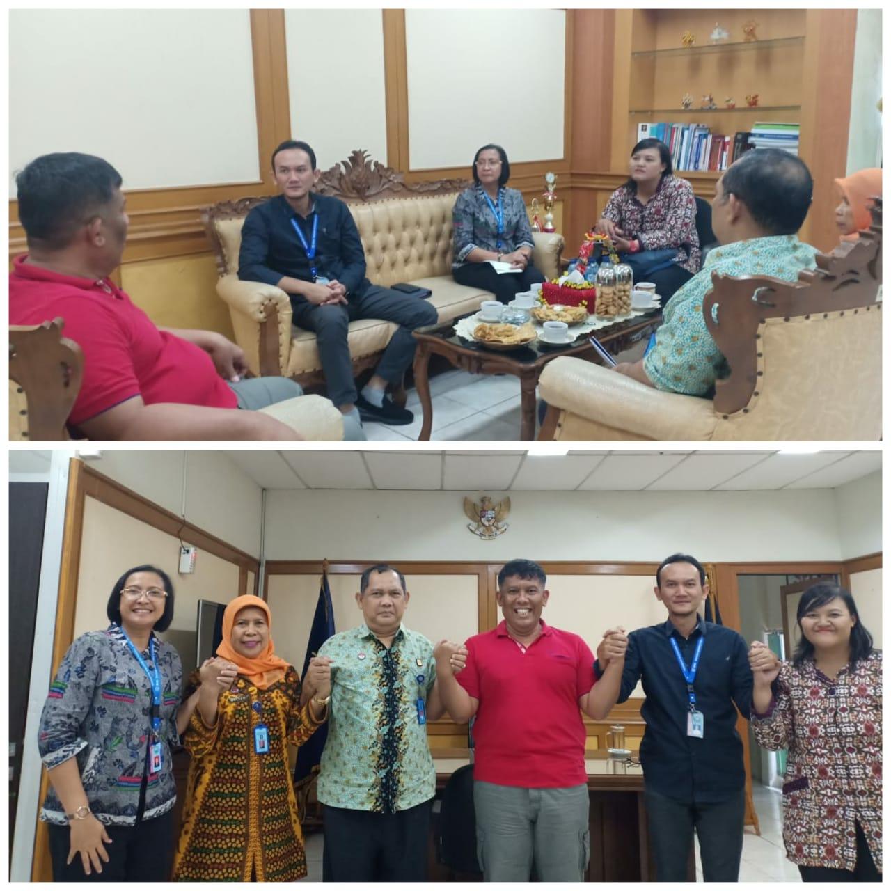Koordinasi dalam Rangka Pelaksanaan Advokasi di Kantor Wilayah Kementerian Hukum dan HAM Provinsi DKI Jakarta