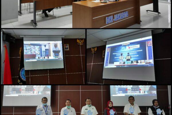 Penandatanganan Nota Kesepahaman antara BNN RI dengan Bawaslu RI Secara Virtual.