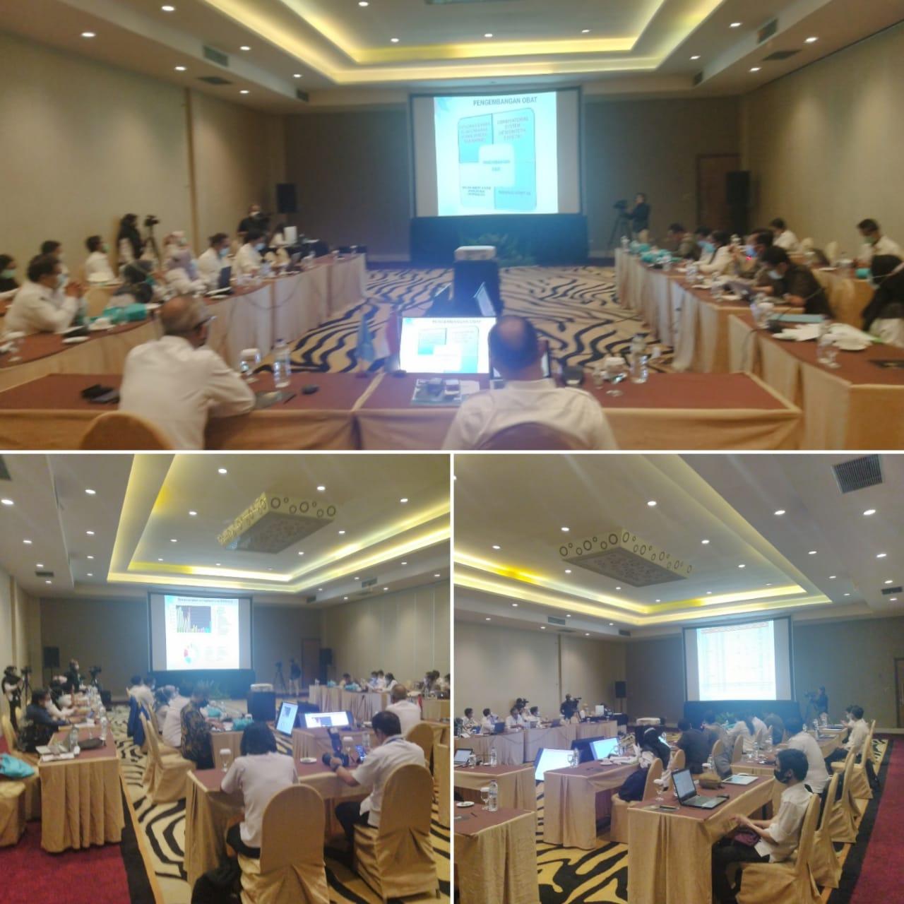 Pembahasan bahan posisi RI pada the 3rd Tropical Meeting