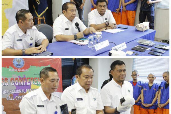 BNNP DKI Jakarta Amankan 1,6 Kg Sabu