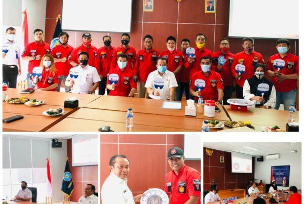 Audiensi dari Pemuda Batak Bersatu ( PBB ) kepada Kepala BNNP DKI Jakarta