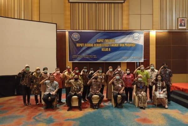 Rapat Evaluasi Deputi Bidang Rehabilitasi Tingkat BNN Provinsi