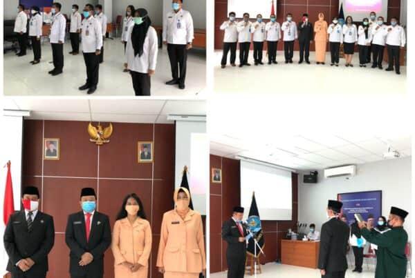 Pelantikan dan Sumpah Jabatan Pejabat Struktural Eselon 3, Kepala Bidang Pemberantasan BNNP DKI Jakarta.