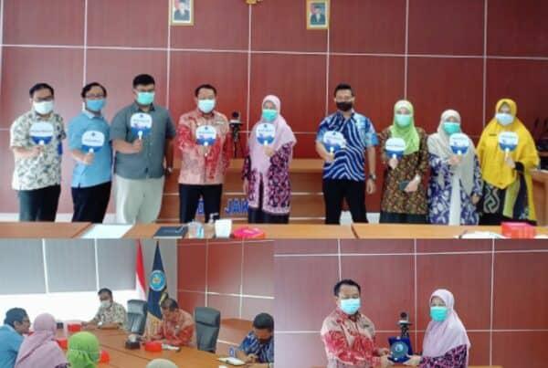 Audiensi dari Partai Gelombang Rakyat (Gelora) Indonesia kepada Kepala BNNP DKI Jakarta.