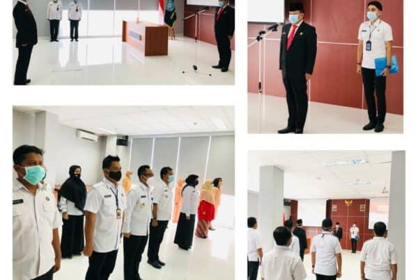 Acara Pelantikan Dan Sumpah Jabatan Pejabat struktural Eselon 3. Kepala BNNK Jakarta Timur.