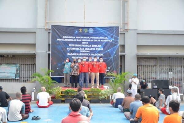 Penyuluhan Bahaya Narkoba bagi Warga Binaan Pemasyarakatan di Rutan Kelas I Jakarta Pusat