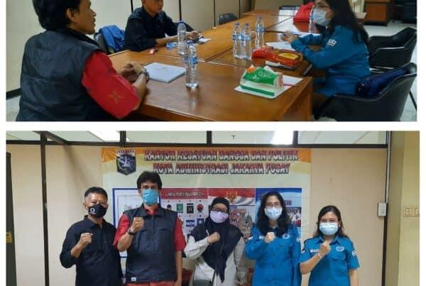 Supervisi Pelaksanaan Advokasi Pembangunan Berwawasan Anti Narkoba ke Forum Kewaspadaan Dini Masyarakat (FKDM) Jakarta Pusat