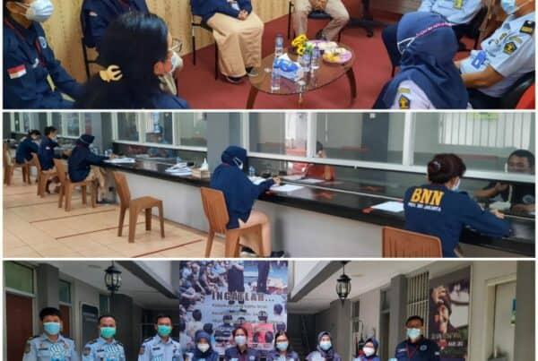 Asesmen Akhir dalam Rangka Pelaksanaan Rehabilitasi Narkotika di Lapas.