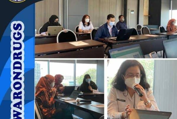 Rapat Penyusunan Petunjuk Teknis Penetapan Lembaga Rehabilitasi bagi Pecandu dan Korban Penyalahguna Narkotika
