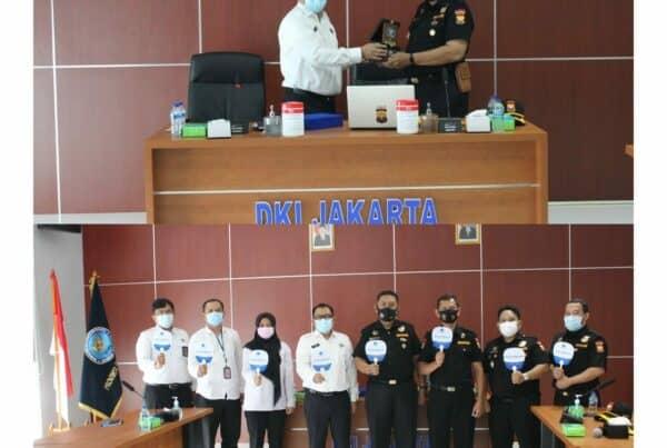 Audiensi dari Senkom Mitra Polri Provinsik DKI Jakarta kepada Kepala BNNP DKI Jakarta.