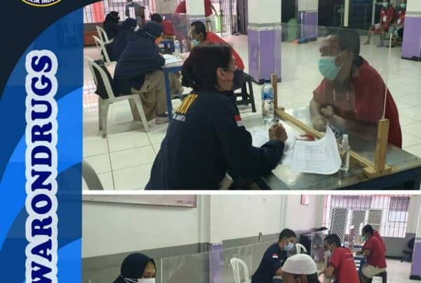 Asesmen Akhir dalam Rangka Pelaksanaan Rehabilitasi Medis di Rutan Kelas I Jakarta Pusat TA. 2021