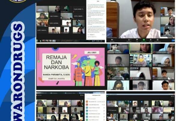 Sosialisasi P4GN dengan SMA 30 Jakarta dalam rangka Masa Pengenalan Lingkungan Sekolah (MPLS)