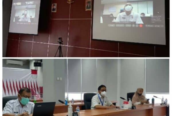 Rapat Evaluasi Capaian Kinerja Triwulan II Deputi Bidang Pencegahan secara Virtual