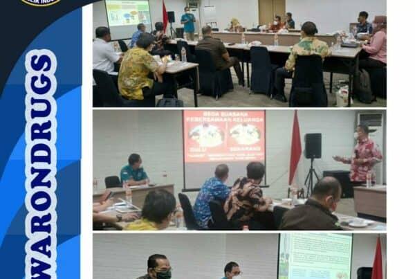 Rapat Kerja Program Pemberdayaan Masyarakat Anti Narkoba di Instansi Pemerintah
